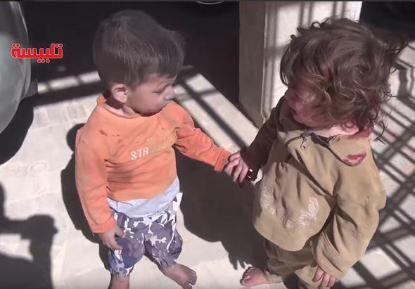 Сирийская мать, ребенка которой убили русские, проклинает Россию и Путина