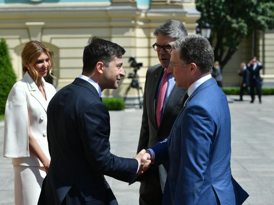 Украина, Политика, США, Перри, Поддержка, Зеленский.