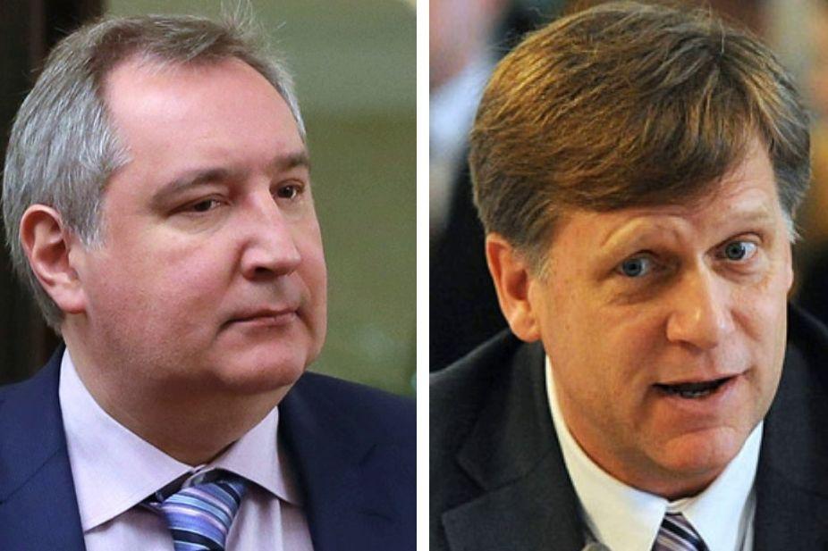 """""""Окончательно оха**ли"""", - Рогозин в гневе набросился на Макфола и лишился аккаунта в Facebook"""