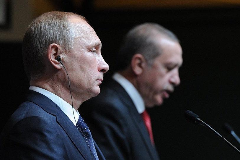 война в сирии, турция, путин, эрдоган, скандал, россия, мюрид, сша