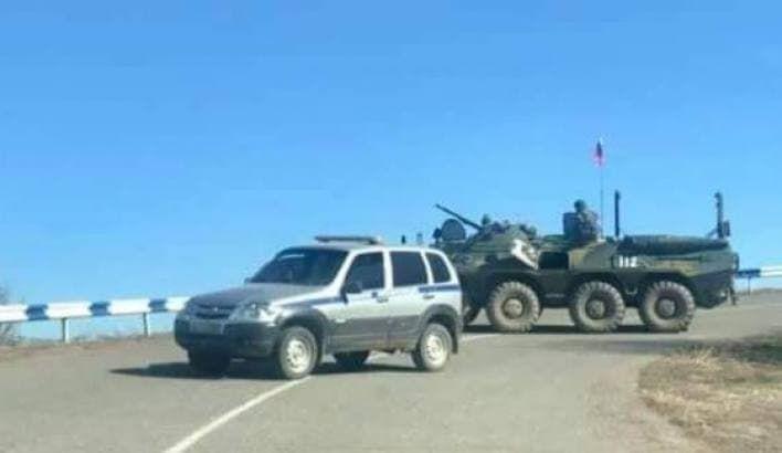 На армяно-азербайджанской границе после стрельбы произошел конфликт между военными РФ и Азербайджана