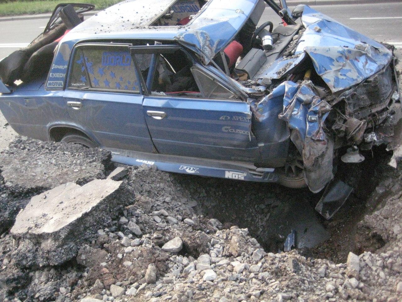 Фото розбитих машин дивитться 10 фотография