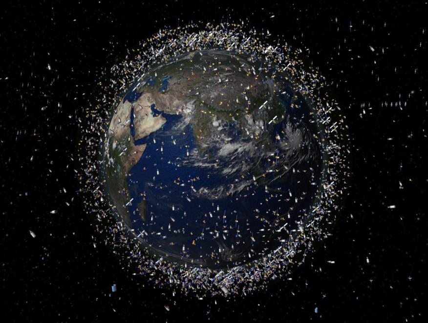 SpaceX запустила гарпун RemoveDebris для сбора космического мусора – кадры