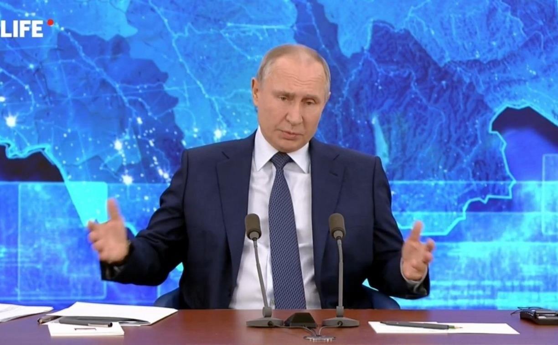 Путин вспомнил пятую точку, отвечая на вопрос, почему не показал процесс прививания от коронавируса