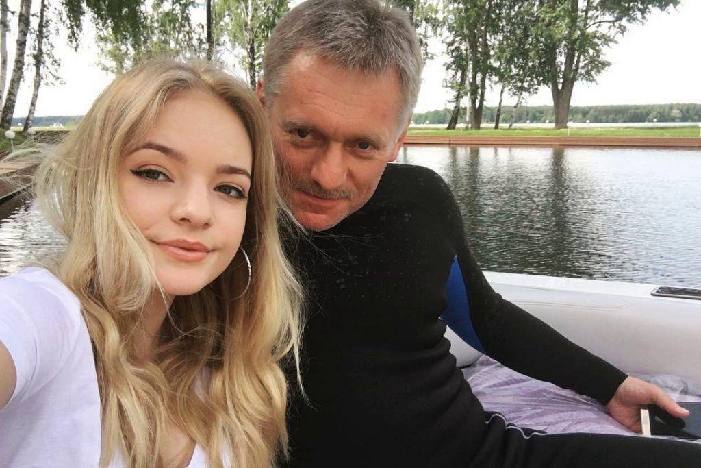 СМИ: дочь Пескова тайно выходит замуж в Италии за влиятельного чеченца