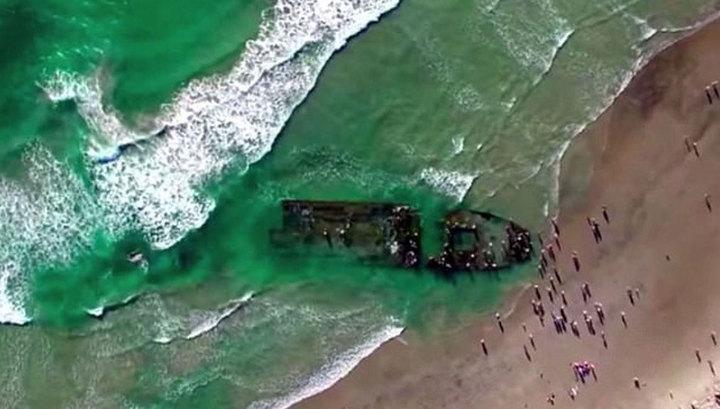 Страшная находка у берегов Калифорнии: на сушу вынесло российский корабль-призрак с крысами-каннибалами на борту - кадры
