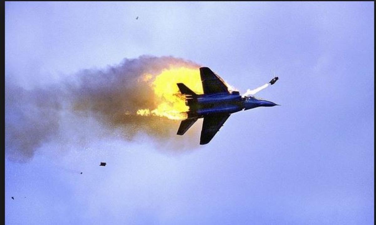 Катастрофа Миг-29 в Ливии: российского пилота ищут ополченцы, сбившие истребитель
