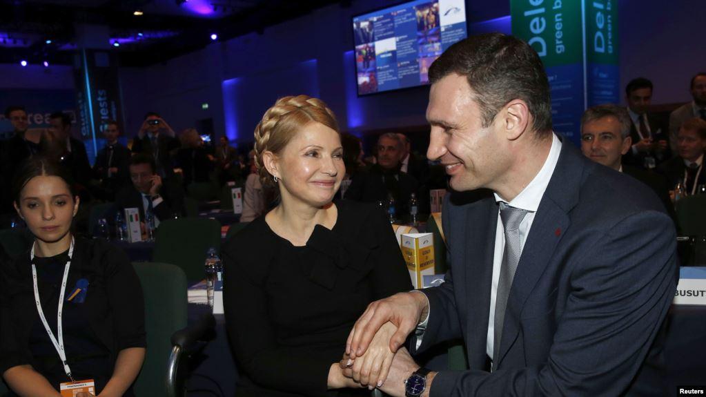 Украина, Кличко, Тимошенко, Полиитка, УДАР, Батькивщина, Выборы, Верховная Рада.