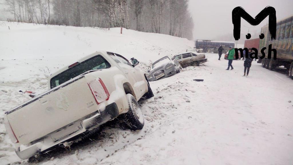На Москву обрушилась снежная буря, которой не было последние 68 лет: москвичи напуганы снегопадом, есть жертвы - кадры