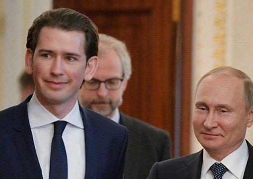 """СМИ: Путин в Австрии """"умолял"""" Курца устроить ему встречу с Трампом – громкие подробности"""