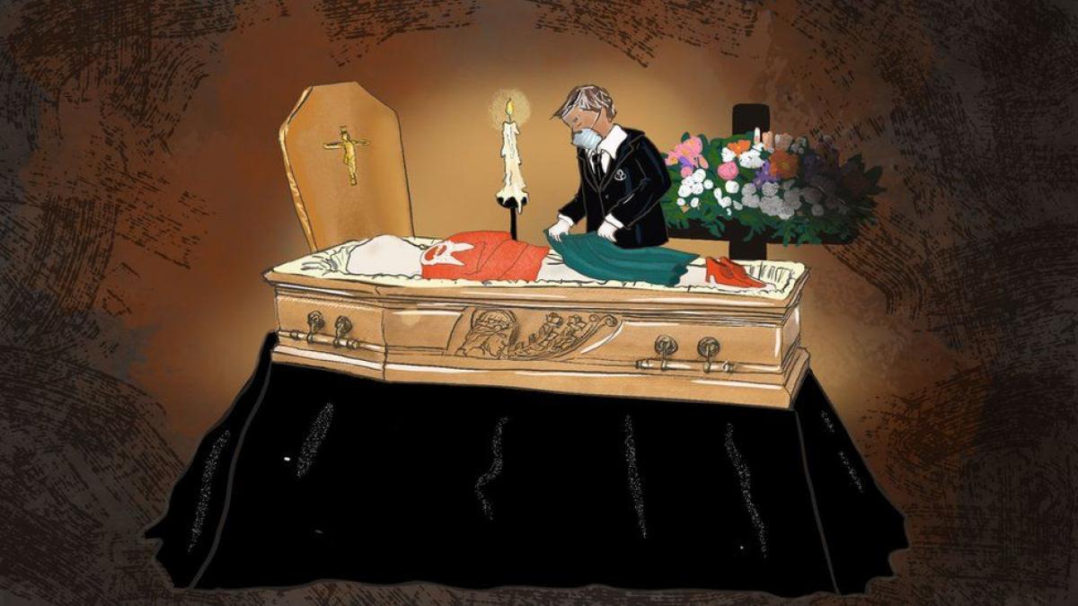Италия, Коронавирус, Погибшие, Близкие, Родные, Прощание, Похоороны, Общество, ритуальные службы, Гробовщики