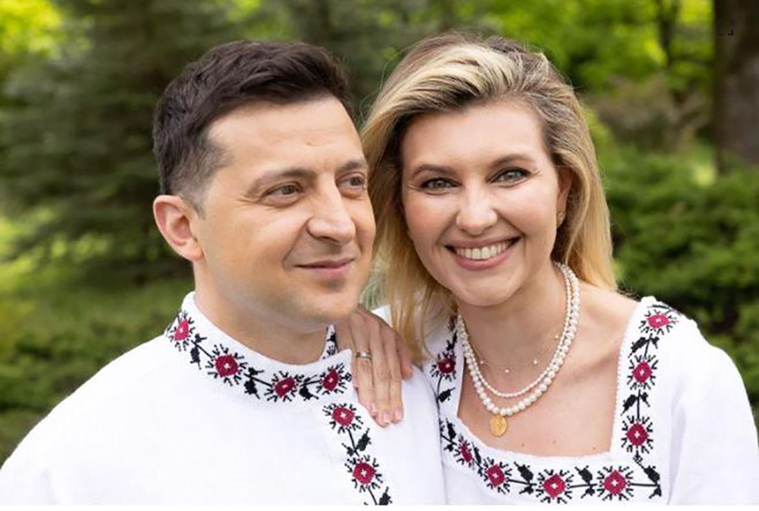 Зеленский с первой леди попали в скандал из-за вышиванки - в Офисе президента ответили на хейт