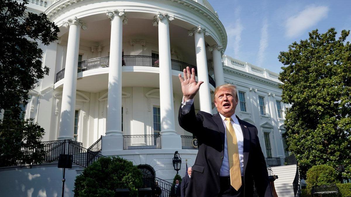 США, Белый дом, Военная помощь, Трамп, Политика, Импичмент.