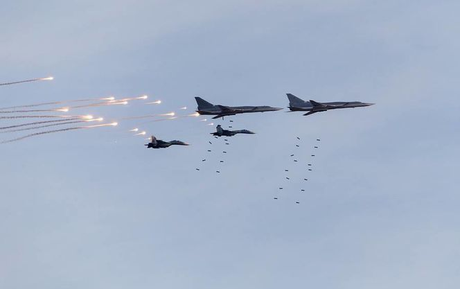 В результате бесчеловечных атак российской авиации в Сирии снова убиты женщины и дети