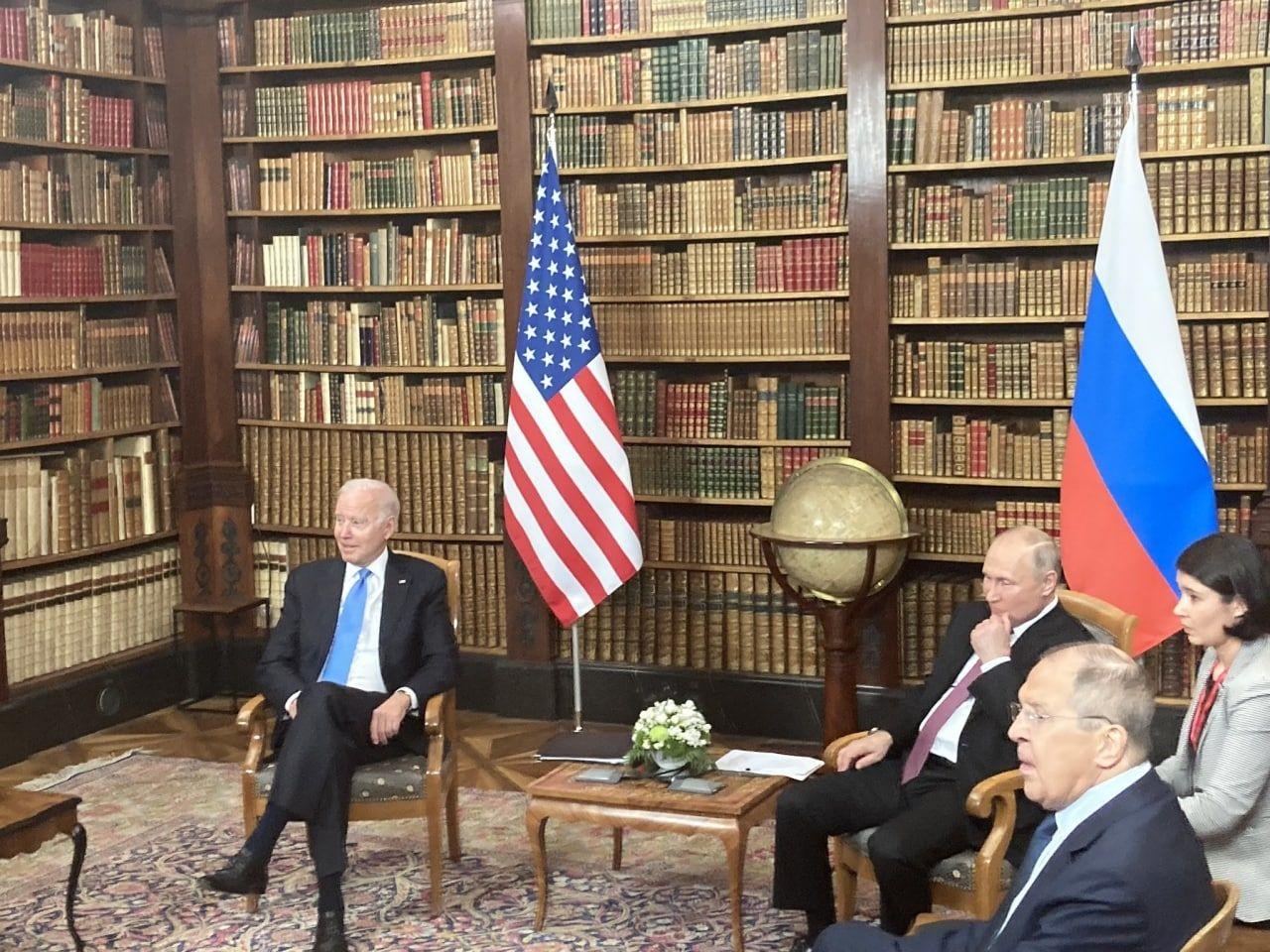 Байден ответил Путину, который поблагодарил американского лидера за инициативу встретиться