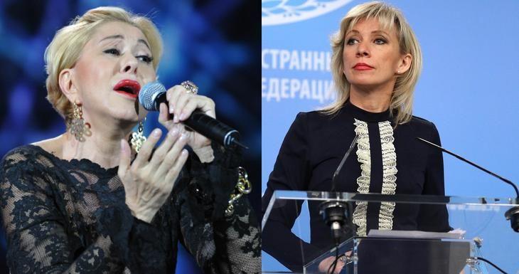 Успенская поздравила Захарову и потеряла подписчиков: россияне возмущены словами певицы