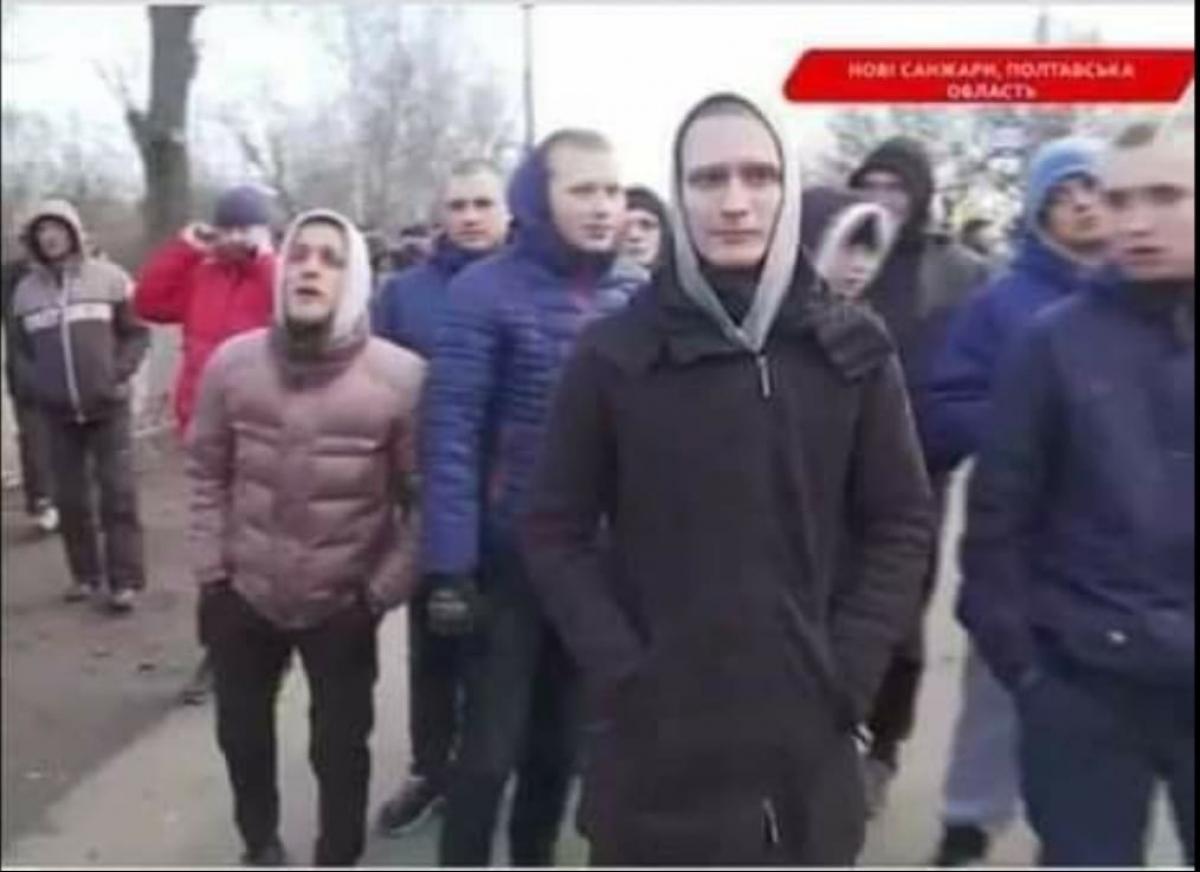 Новые Санжары, Протест, Митинг, Коронавирус, Местные жители.