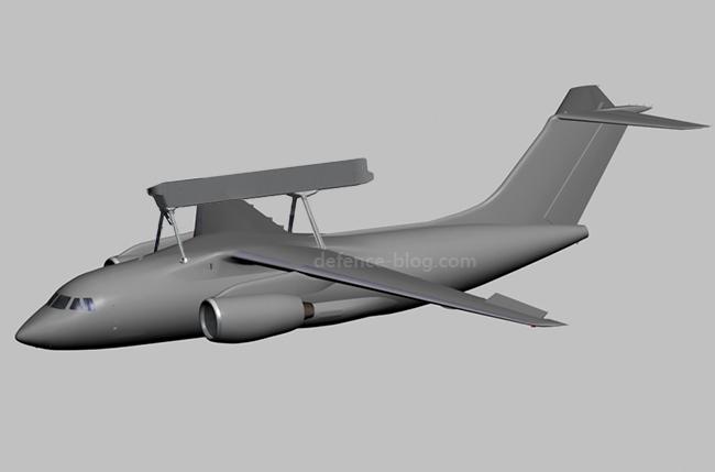 """""""Антонов"""" создаст для ВСУ новый самолет радиолокационного управления, способный обнаружить множественные морские и воздушные цели: фотофакт"""