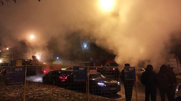 Миллион человек без тепла и света, страшные ожоги ног у людей: в Сети появилось первое видео с места взрыва ТЭЦ в Москве