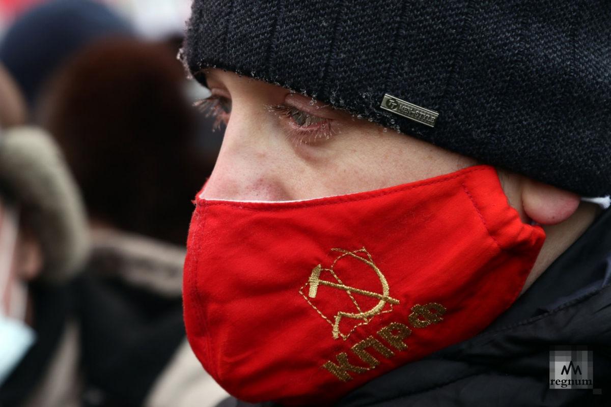 В Москве начался единственный митинг против результатов выборов в России