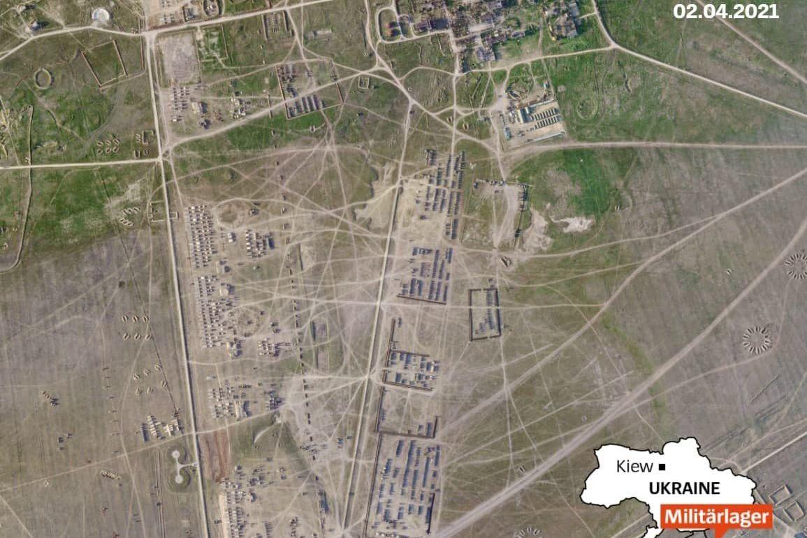Der Spiegel нашел новую базу ВС РФ на востоке Крыма - Кремль перебросил под Керчь 58-ю армию с Кавказа