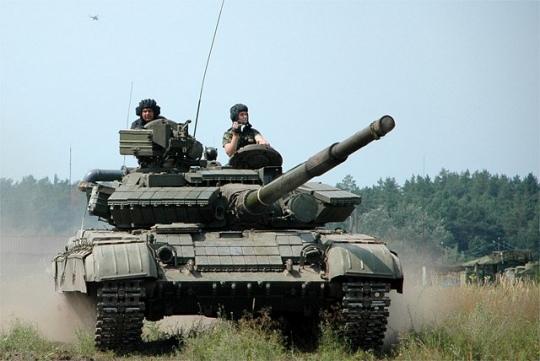 Украинская армия наращивает мощь и готова воевать в Донбассе тяжелым вооружением. Знакомьтесь, модель танка Т-64 БВ-1