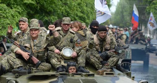 Ополченцы установили контроль на пункте пропуска «Мариновка»