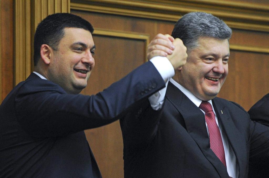 """Гройсман поддержал Порошенко: """"Давайте сделаем Украину сильной и богатой страной"""" - видео"""