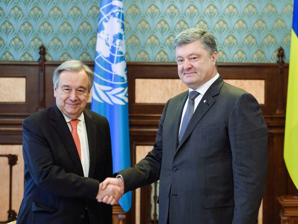 """Конфликт России и Украины на Донбассе является приоритетным для ООН, мы готовы поддержать все инициативы """"нормандской четверки"""", - Гутерриш"""