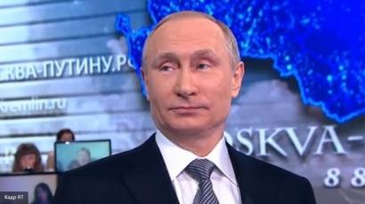 """Маленькая россиянка поставила Путина в """"трудное положение"""" вопросом о Порошенко и Эрдогане"""
