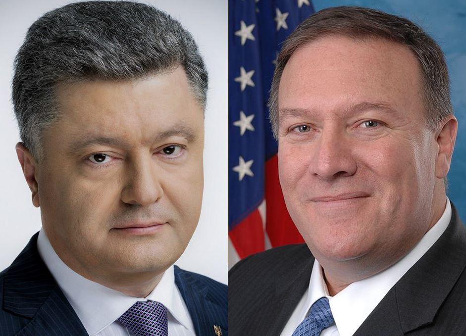 Переговоры Порошенко и Помпео: стали известны подробности телефонного разговора