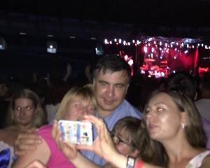 """Украинский дух неистребим: одесский губернатор Михаил Саакашвили знатно отгулял на концерте """"Океан Эльзы"""" в Одессе, опубликованы кадры"""