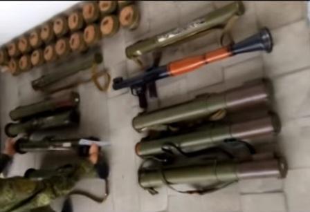 В пригороде Северодонецка в укромном месте припрятали целый арсенал боеприпасов