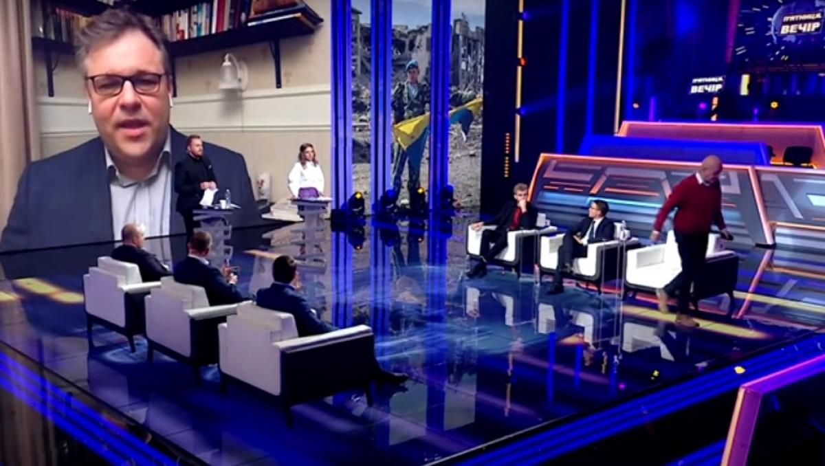 """Березовец о скандальном эфире канала """"НАШ"""": """"Единственным покинувшим студию оказался Георгий Тука"""""""