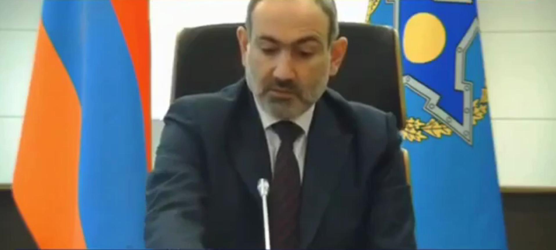 На саммите ОДКБ у Пашиняна внезапно отключился микрофон на неоднозначной фразе: видео попало в Сеть