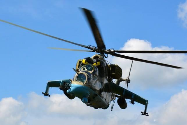 Объединенные силы под носом у врага провели учения наводчиков Ми-8 по стандартам НАТО