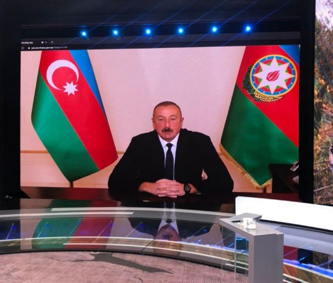 Алиев рассказал, как Турция помогает воюющему в Нагорном Карабахе Азербайджану