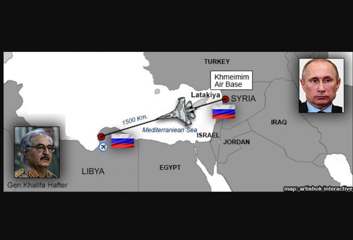 Россия перебрасывает военную авиацию из Сирии в Ливию - Турция грозит ответить