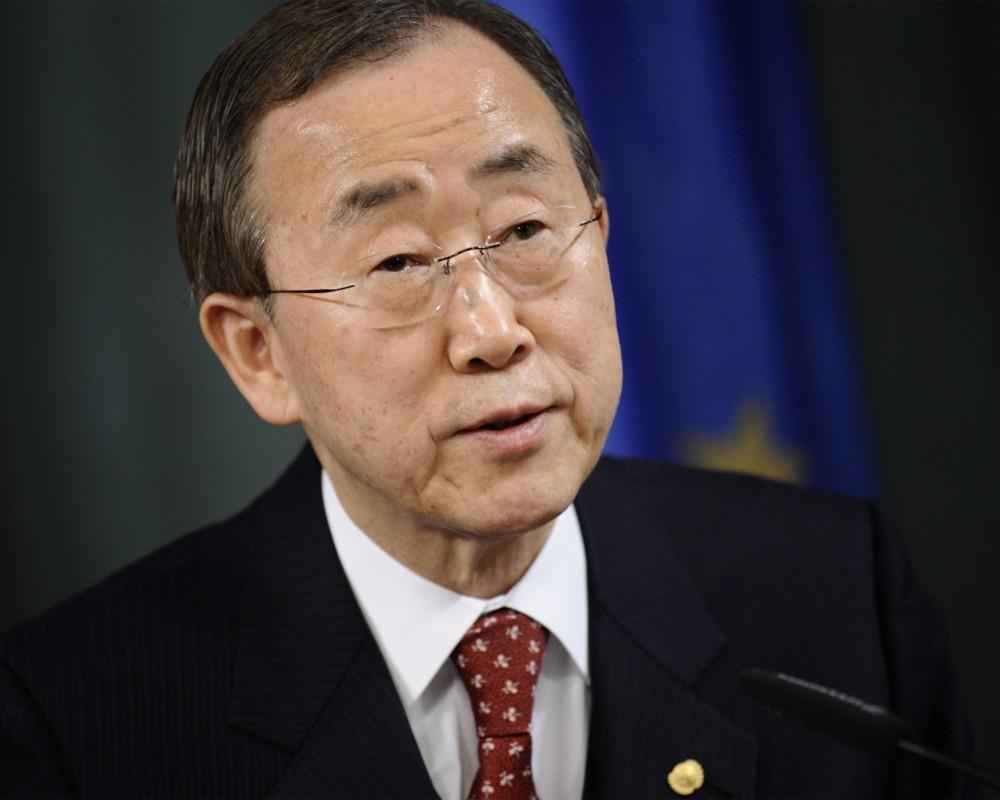 Пан Ги Мун: ООН готова увеличить гуманитарную помощь Украине
