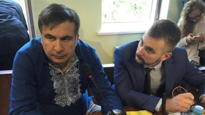 """Cаакашвили """"подписался"""" на собственный арест: экс-губернатор Одесской ОГА не явился на заседание суда, несмотря на предупреждения Луценко"""