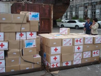 Красный Крест ждет координации с российской стороной для отправки гуманитарной помощи Донбассу