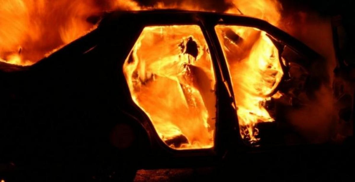 """""""Ты улицу хочешь сжечь?"""" - """"Нет, только эту машину"""", - во Львове подожгли автомобиль журналистки """"Радио Свобода"""""""