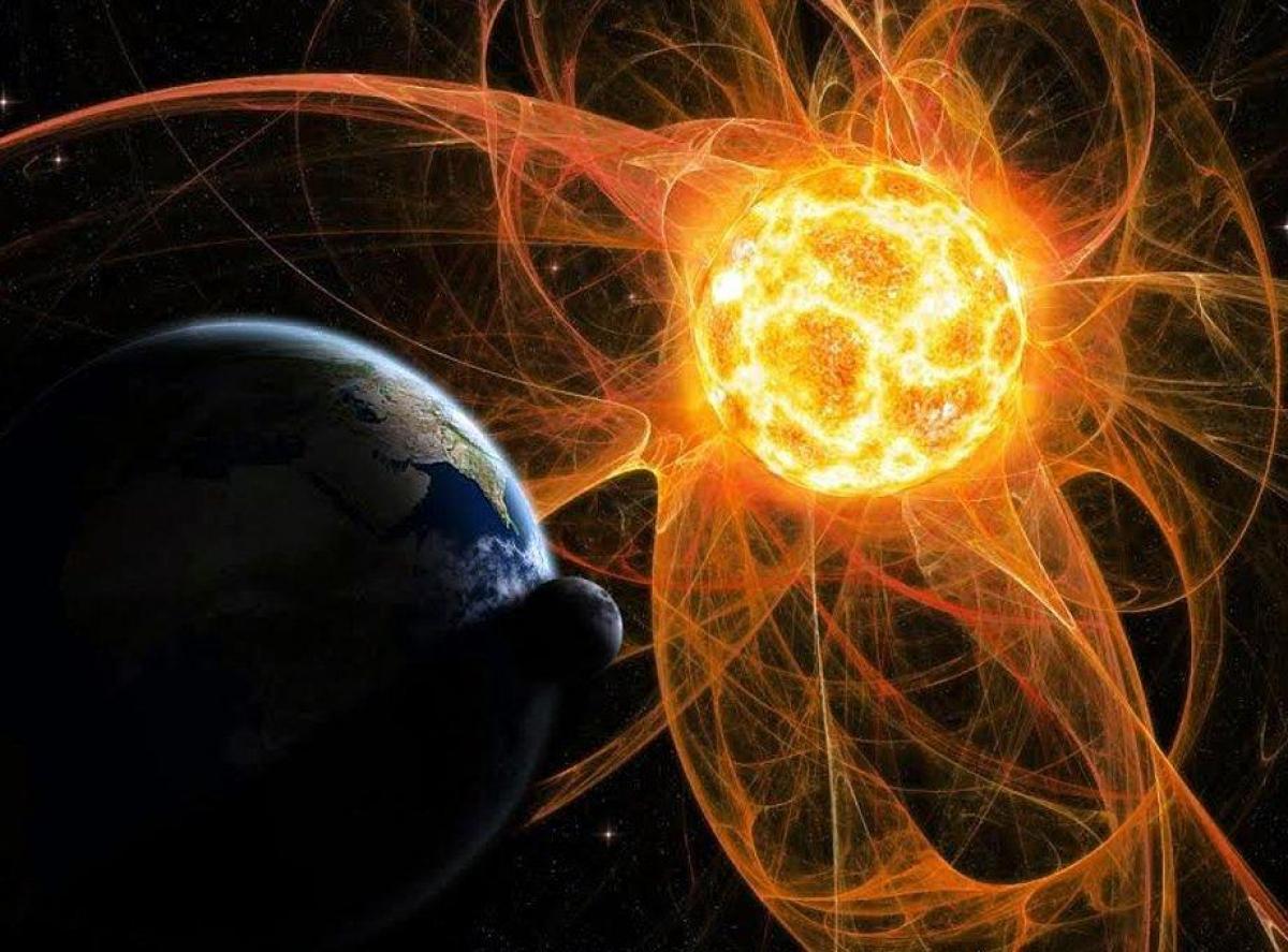 Земля, Солнце, магнитные бури, инфаркты инсульты, гипертоники, солнечный ветер