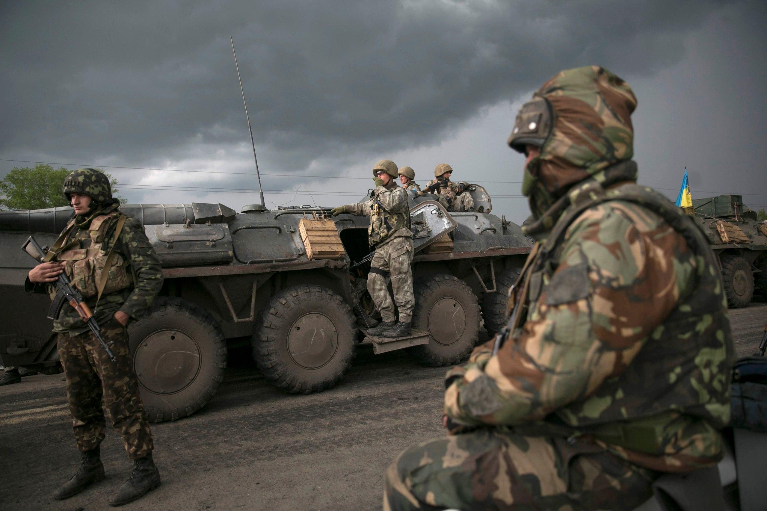 Террористы обстреляли из минометов Пески и Авдеевку, - пресс-центр АТО