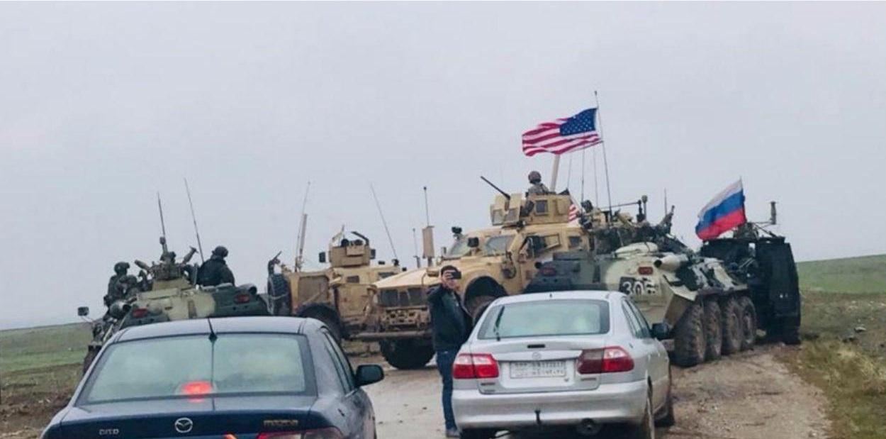 В Сирии военный конвой РФ попытался прорвать блокпост США - дело шло к рукопашной схватке