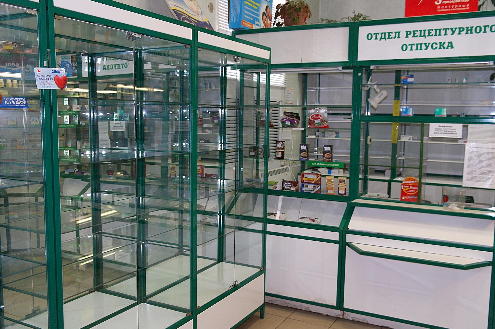 В Луганске работает только один аптечный пункт