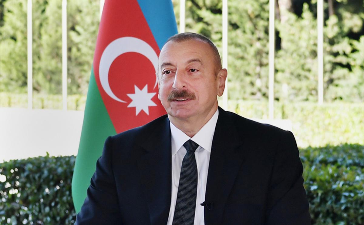 Алиев рассказал, что намерен сделать с Карабахом в ближайшем будущем