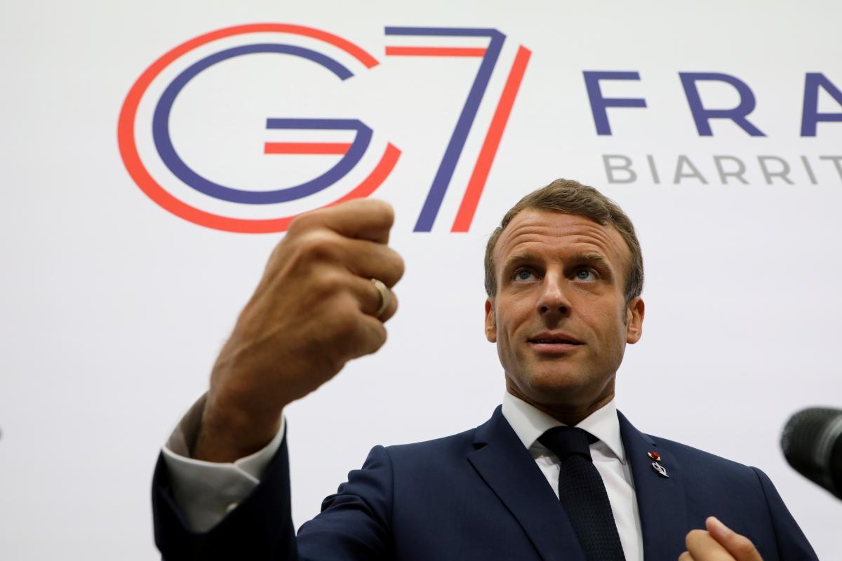 Макрон поставил точку в возвращении России в G7