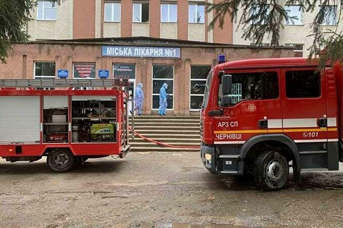 Огненное ЧП в COVID-боксе Черновцов: ночью скончался второй пострадавший