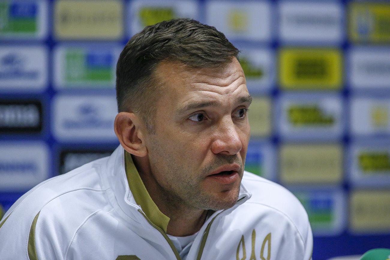 Шевченко ответил СМИ, будет ли матч Украина – Австрия договорным и направлен против России